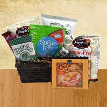 Gift baskets for diabetics buy sugar free gift basket for diabetic snacker gift basket sugar free negle Image collections