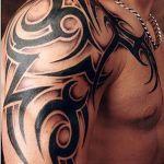 Tribal Tattoo Arm Designs For Men