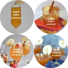 the best of fall cocktails //