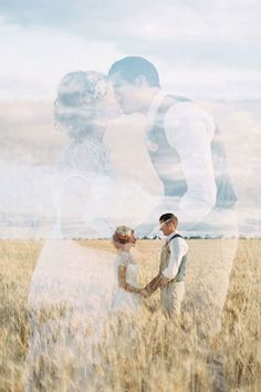 """Why We Love It: We love the ethereal beauty of this double exposure wedding photo!Why You Love It:""""Lovely! It's like two pictures in one!"""" —Amanda E. """"Beautiful photography! I have never seen this idea!"""" —Sarah E. """"You can see the love they have for each other."""" —Amanda H. """"This picture is absolutely breathtaking."""" —Dena B. """"Image of a beautiful memory!"""" —Clara B.Photo Credit: Feather and Stone Photography"""