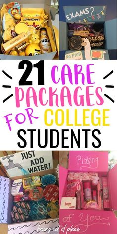 College Gift Basket For Girls, College Gift Boxes, College Student Gifts, College Students, College Care Packages, College Care Package For Girls, Valentines Day Care Package, Valentines Gift Box, Boyfriend Care Package