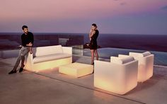 Pearl Resin Sectional Patio Sofas