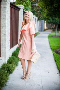 Chloe Ruffled One-Shoulder Dress