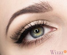 Idealna czarna kreska - krok po kroku Eye Makeup, Hair Makeup, Hair Beauty, Eyes, How To Make, Prom, Nails, Google, Fashion