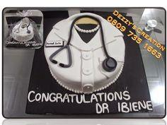 Female doctor cake :)