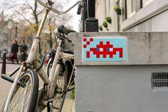 Invader - Amsterdam