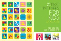 21 of the best math apps for kids of all ages | back to school tech guide 2015