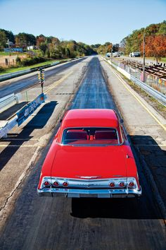 Louie Gorfry's Impala, this is what I would like my driveway to look like.