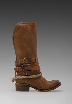 Freebird by STEVEN Drover Boot in Tan - Boots. These are the boots I wore in Season One of Fixer Upper