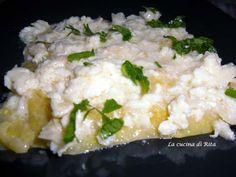 Polenta al sugo di cernia/ polenta with grouper