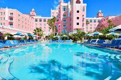 Loews Don CeSar Hotel Nicknamed Florida's Pink...   Luxury Accommodations