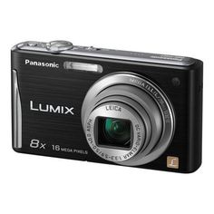 """Panasonic Lumix DMC-FH27 16MP 8x Zoom Digital Camera with 3.0"""" Touchscreen (Black). Accessories Included - Battery Charger, Battery Pack, Stylus Pen, AV cable, USB Cable, Hand Strap, CD-ROMFeatures. 3.0-inch High Resolution LCD - Large 3.0-inch LCD features high 230,000-dot resolution Intelligent LCD with Touch Screen. It automatically adjusts the brightness in 11 steps according to shooting conditions. This LCD provides sharp, clear images in v. Venus Engine VI - The high-speed..."""