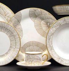 Kelly Wearstler's Pickard china - Want it, love it.