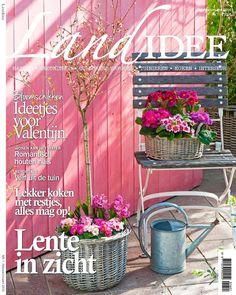 Cover LandIdee februari-maart 2016. www.landidee.nl #landidee #winter #voorjaar