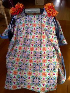 Sew Fantastic: Baby Car Seat Cover tutorial-looks super easy Love My Kids, Cute Kids, Cute Babies, Baby Kids, Baby Boy, Sewing For Kids, Baby Sewing, Sew Baby, Car Seat Cover Pattern