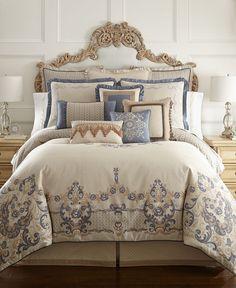 Waterford Bedding Harrison King Duvet Cover Bedroom