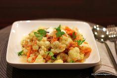 Schöner Tag noch!: Blumenkohl-Linsen-Curry mit Datteln  http://schoenertagnoch.blogspot.de/2012/09/blumenkohl-linsen-curry-mit-datteln.html#