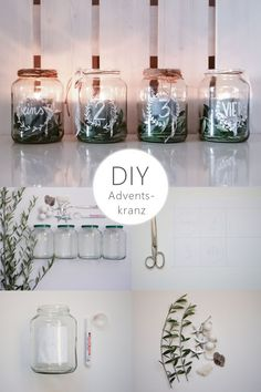 DIY upcycling Advent wreath made easy by yourself. Last minute idea for an advent wreath. Make Advent wreath yourself. DIY Advent wreath of glasses. Christmas wreath with olive branches. Make Advent wreath. Advent wreath with lace. Upcycled Crafts, Upcycled Home Decor, Diy Home Decor, Diy And Crafts, Upcycled Furniture, Christmas Time, Christmas Wreaths, Christmas Decorations, Xmas