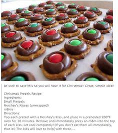 Christmas Pretzels ~ Super Easy!!  Use Glutino GF Pretzels to make this gluten free