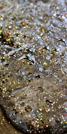 Erupting moon dust - A recipe for play and prewriting exercise that your children will beg to do again and again!