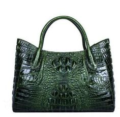 alligator grain embossing fashion women handbags