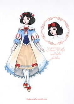 My loli-version of Disney Snow White in dress of BABY, THE STARS SHINE BRIGHT.^_^