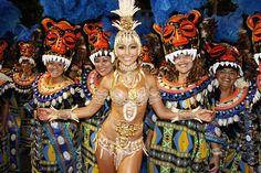 Carnival 2012 - Sabrina Sato pela Vila Isabel, Sambodromo do Rio de Janeiro, Brasil.