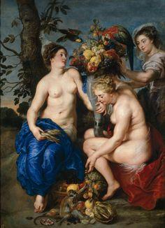 """Rubens y Snyders: """"Ceres y ninfas"""""""