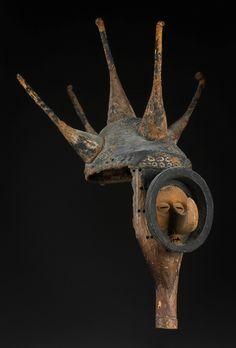 Yaka Mask, Democratic Republic of Congo