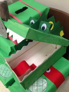 valentine box dinosaur