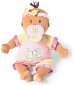 4KidsLikeMe (a Halsey Street Company) - Ethnic Baby Stella Doll, $34.95 (http://www.4kidslikeme.com/products/ethnic-baby-stella-doll.html)