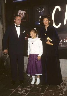 The Sweden Royals and Crown Princess Victoria of Sweden 1987
