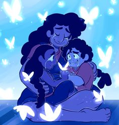 here comes a thought - Stevonnie, Connie & Steven