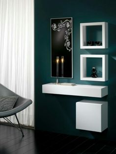 Furnish Your Home In Style With These Furniture Secrets. Buying furniture for your home can be loads of fun or a nightmare. Decoration Hall, Entryway Decor, Wall Decor, Home Interior Design, Interior Decorating, Dressing Table Design, Dressing Mirror, Affordable Furniture, Contemporary Furniture