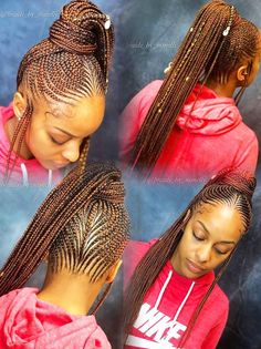 Braided Ponytail Tribal Style Braids Lemonade Braids Braids intended for dimensions 1280 X 1712 Long Braided Ponytail Hairstyles - Beautifying yourself Braided Ponytail Black Hair, Braided Ponytail Hairstyles, Black Girl Braids, African Braids Hairstyles, Braids For Black Hair, Girls Braids, Braid Ponytail, Fishtail Braids, Easy Hairstyles
