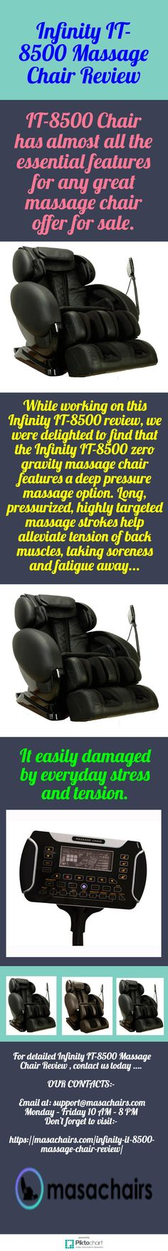 20 minute massage cycle of IT-8500 Massage Chair will reduce your stress and you will feel more energetic. For Infinity IT-8500 Massage Chair Review visit:  https://masachairs.com/infinity-it-8500-massage-chair-review/