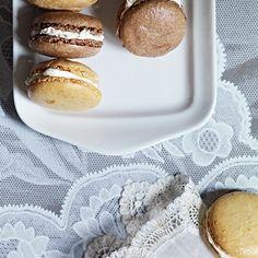 Chocolate, Orange and Vanilla Macaroons