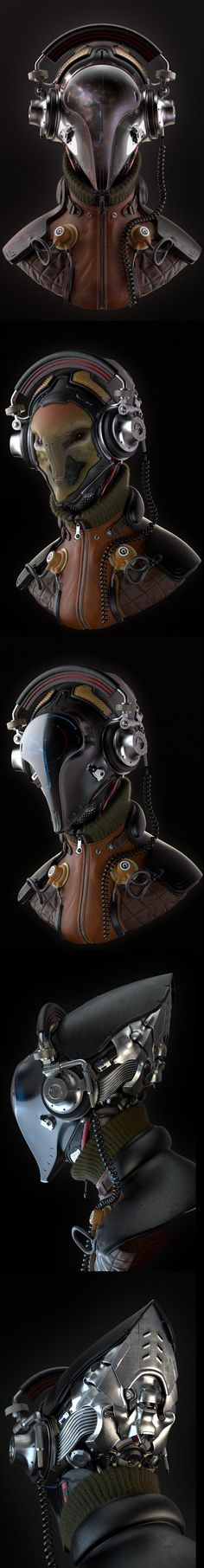 Intergalactic Music Pilot FS by Oleg Memukhin 1221px X 9375px