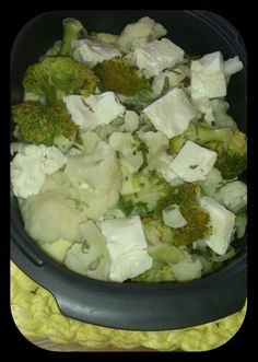 Mhhhh.... Jummy... Healthy Food, Healthy Recipes, Cauliflower, Vegetables, Health Recipes, Cauliflowers, Healthy Food Recipes, Healthy Foods, Vegetable Recipes