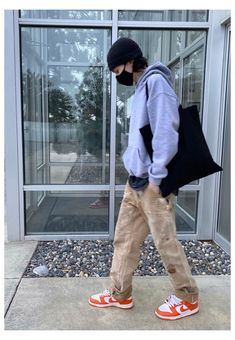 Indie Fashion Men, Workwear Fashion, Retro Outfits, Cool Outfits, Casual Outfits, Mode Streetwear, Streetwear Fashion, Carhartt Workwear, Friend Pictures