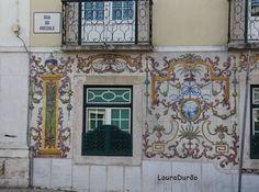 Tile Art, Tiles, Gallery Wall, Frame, Home Decor, Lisbon Portugal, Sun, Lisbon, Room Tiles