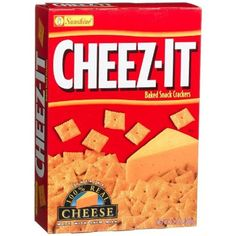 Cheez-It Baked Snack Crackers, Original, 13.7-Ounce Boxes (Pack of 4) by Cheez-It -- Awesome products selected by Anna Churchill