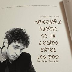 Imágenes con frases de canciones de Gustavo Cerati Words Quotes, Wise Words, Me Quotes, Sayings, Soda Stereo, Alana Blanchard, Cool Phrases, My Poetry, Simple Words