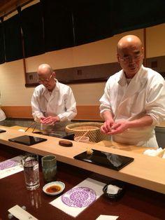 """Sukiyabashi Jiro (Ginza) (most famous sushi bar in Tokyo - """"Jiro Dreams of Sushi"""")"""
