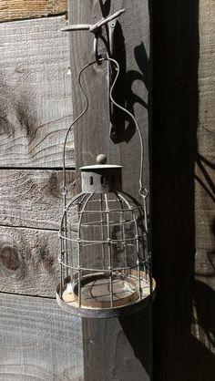 Vintage patio lantern by KnobKnobwhosthere on Etsy, $34.00