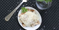 This Chicken Paleo Alfredo is perfect for those days you miss your former foodie lifestyle.