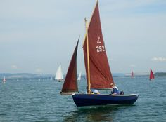 Photography. Cornish Coble  Sailing at West Wittering  Photography by Anita Russell www.driftwood-dreams.co.uk
