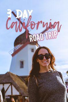 Check out an incredible 3 day coastal California road trip!