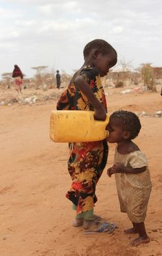 """""""If I see one more child walking, one more mile to find some water, it's one too many.."""""""