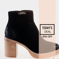 Today Only! 35% OFF this item.  Follow us on Pinterest to be the first to see our exciting Daily Deals. Today's Product: Emma Black Buy now: https://small.bz/AAoldcM #musthave #loveit #instacool #shop #shopping #onlineshopping #instashop #instagood #instafollow #photooftheday #picoftheday #love #OTstores #smallbiz #sale #dailydeal #dealoftheday #todayonly #instadaily